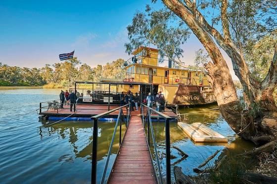 墨尔本周边三大名镇2日生态游 ☞ 澳大利亚仅存 蒸汽游船+草莓采摘+独特仙人掌花园