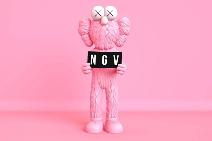 2019 NGV 墨尔本KAWS展 9月20日至2020年4月13日 NGV官方展期/电子票免打印 (孤独时代的陪伴)