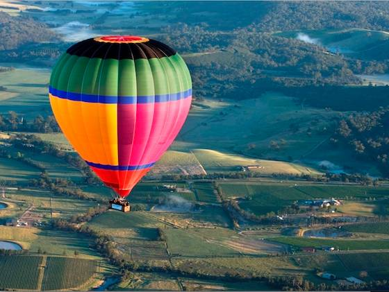 墨尔本热气球之旅- 墨尔本市区或亚拉河谷上空奇幻之旅